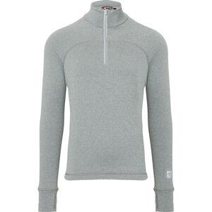 66° North Grimur Powerwool Zip Neck Midlayer Herren heather grey heather grey