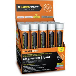 NAMEDSPORT Magnesium Liquid + Vitamin B6 Box 20x25ml None
