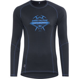 Directalpine Shark LS T-Shirt anthrazit/blau anthrazit/blau