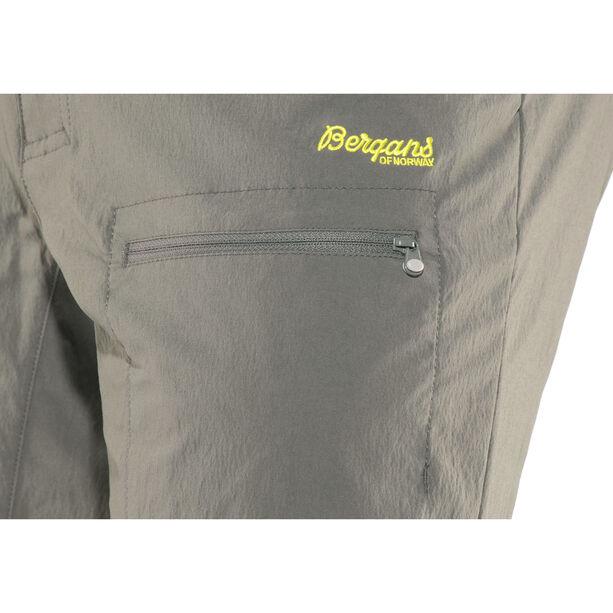 Bergans Utne Shorts Herren graphite/solid light grey/spring leaves
