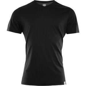 Aclima LightWool V-Neck T-Shirt Herren jet black jet black
