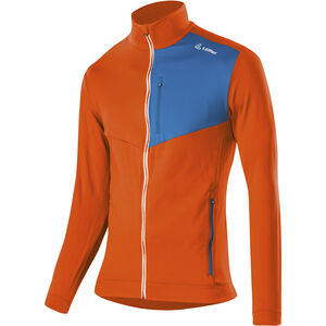 Löffler Thermo Velours Light Full-Zip Sweater Herren carrot carrot