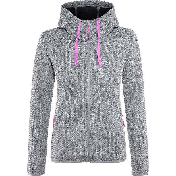 Columbia Pacific Point Full-Zip Hoodie Damen grey ash
