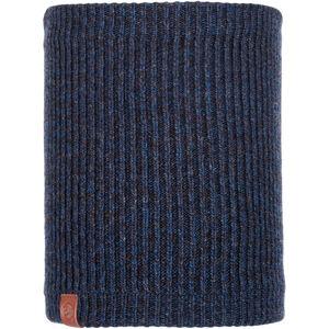 Buff Lifestyle Knitted and Polar Fleece Margo Neckwarmer lyne night blue