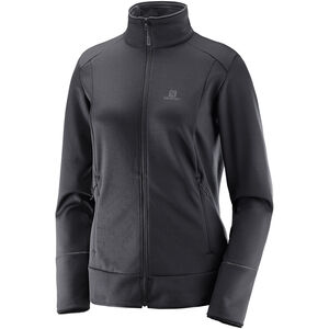 Salomon Discovery Full-Zip Midlayer Damen black black