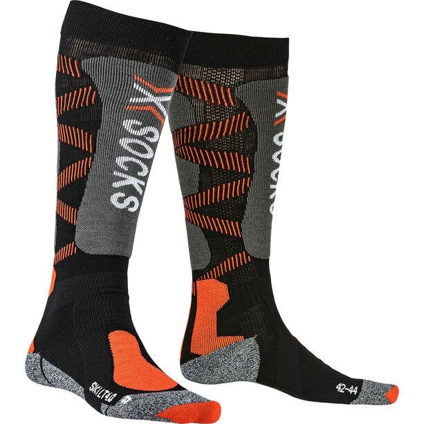 X-Socks Ski LT 4.0 Socken black/x-orange