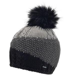 Eisbär Eden Lux Crystal Mütze Damen black/anthracite/grey mottled black/anthracite/grey mottled