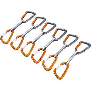Skylotec Flint Express Dyneema Mix Quickdraw Set 11cm 6 Pieces light grey/orange light grey/orange
