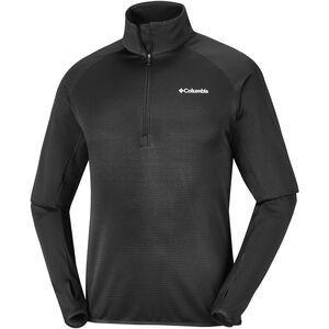 Columbia Mount Powder Half Zip Fleece Pullover Herren black black