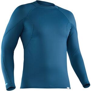 NRS H2Core Rashguard Longsleeve Shirt Herren moroccan blue moroccan blue