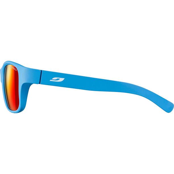 Julbo Turn Spectron 3CF Sonnenbrille 4-8Y Kinder matt blue-multilayer red