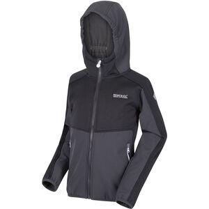 Regatta Bracknell II Soft Shell Jacke Kinder seal grey/seal grey/black seal grey/seal grey/black