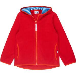Finkid Paukku Jacket Kinder red/grenadine red/grenadine