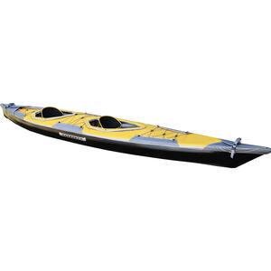 Pakboats Puffin Saranac Solo-Verdeck gelb gelb