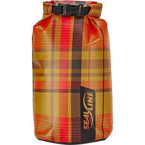 SealLine Discovery Dry Bag 5l orange plaid orange plaid