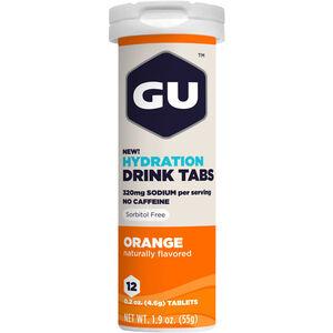GU Energy Hydration Drink Tabs 12 Stück Orange