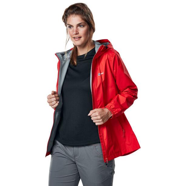 Berghaus Deluge Light Shell Jacket Damen volcano