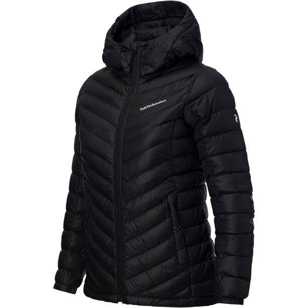 Peak Performance Frost Down Hooded Jacket Damen black