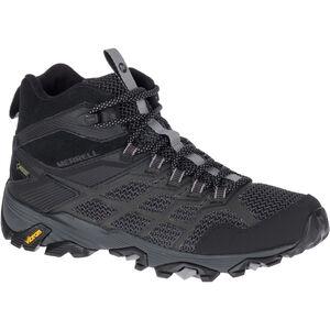 Merrell Moab FST 2 Mid GTX Shoes Damen all black all black