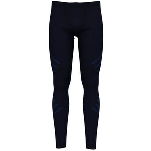 Odlo Suw Natural + Kinship Warm Bl Bottom Pants Damen diving navy melange diving navy melange
