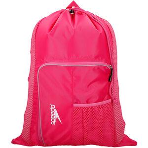 speedo Deluxe Ventilator Mesh Bag 35l pink pink