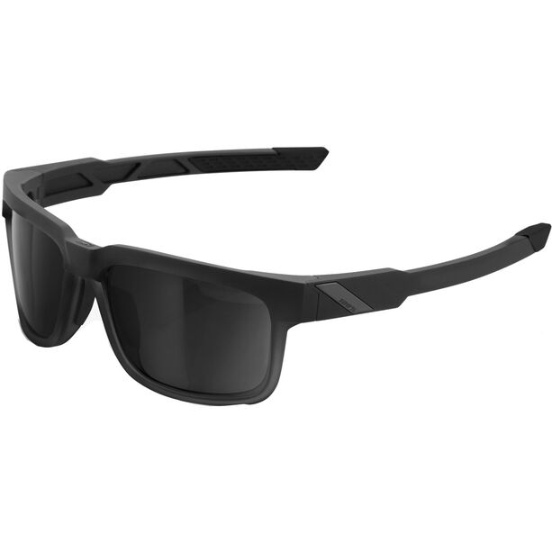 100% Type S Smoke Glasses soft tact black