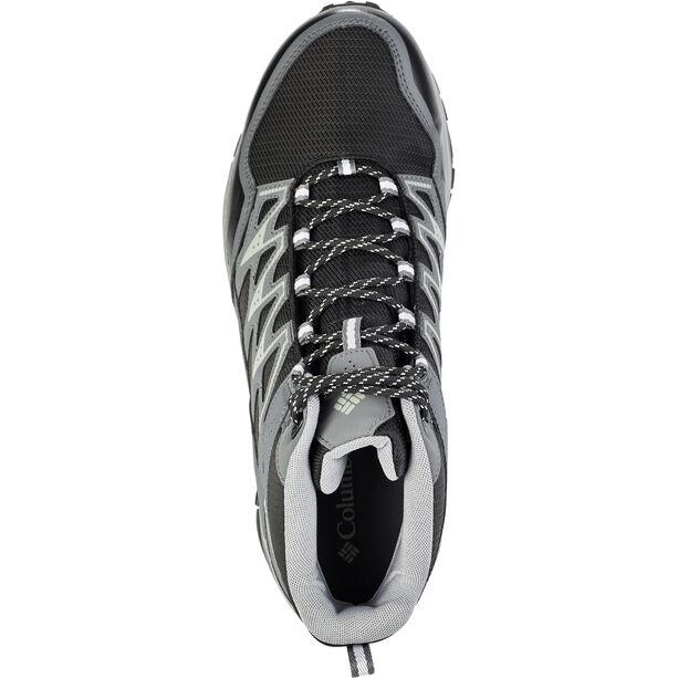 Columbia Wayfinder Mid Outdry Shoes Herren black/white