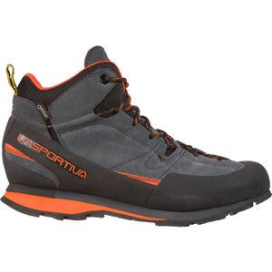 La Sportiva Boulder X Mid Shoes Herren carbon/flame carbon/flame