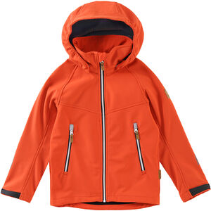 Reima Vild Softshell Jacke Jungs orange orange