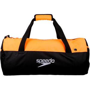 speedo Duffel Bag 30l black/fluo orange black/fluo orange