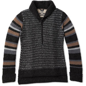 Smartwool CHUP Potlach Half-Zip Sweater Damen charcoal heather charcoal heather