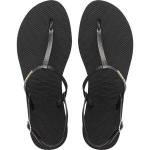 havaianas You Riviera Sandals Damen black black