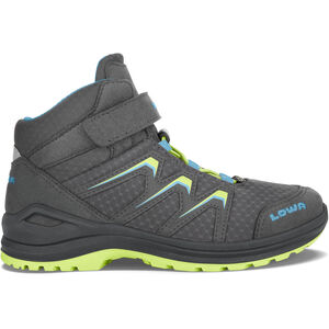 Lowa Maddox GTX Mid-Cut Schuhe Kinder graphite/lime graphite/lime