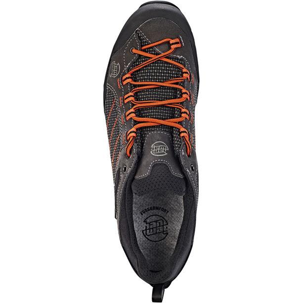 Hanwag Makra GTX Low-Cut Schuhe Herren asphalt/orange