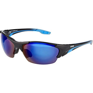 UVEX blaze lll Glasses black blue black blue