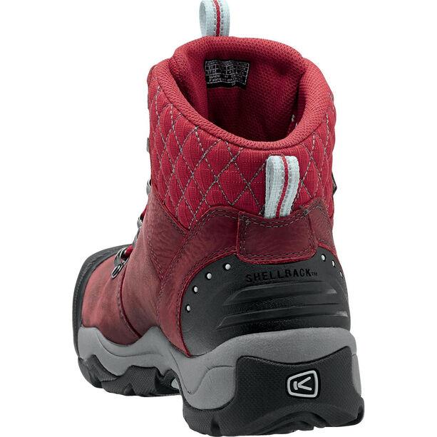 Keen Revel III Schuhe Damen racing red/eggshell