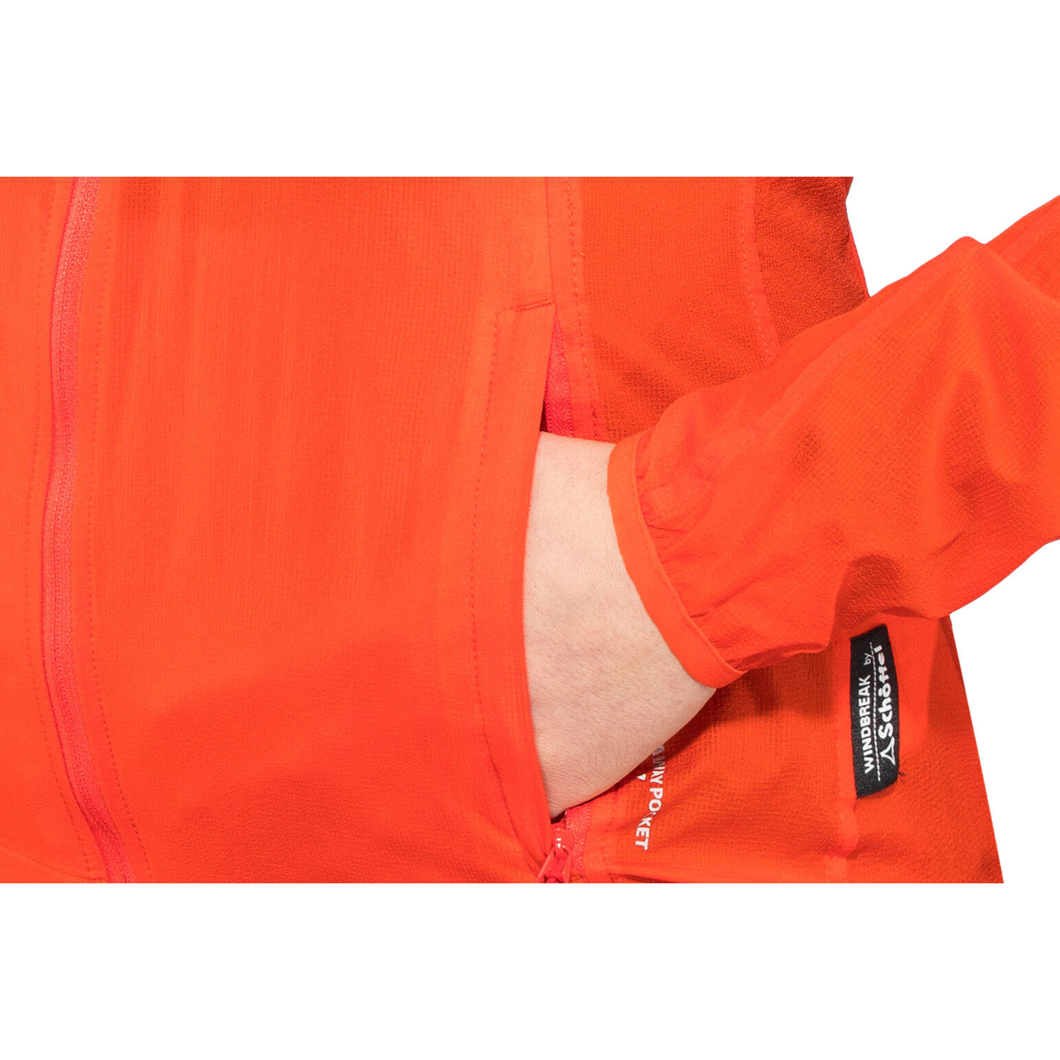 Schöffel L2 Windbreaker Jacket Damen mandarin red