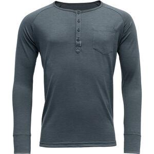 Devold Hessa Button Shirt Herren turbulence turbulence