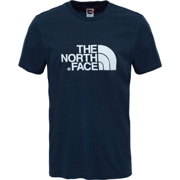 The North Face Easy SS Tee Herren urban navy/tnf white