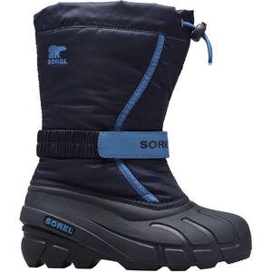 Sorel Flurry Stiefel Jugend black/super blue black/super blue