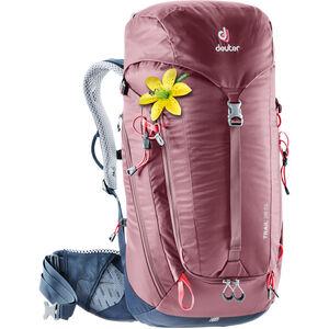 Deuter Trail 28 SL Backpack Damen maron-navy maron-navy