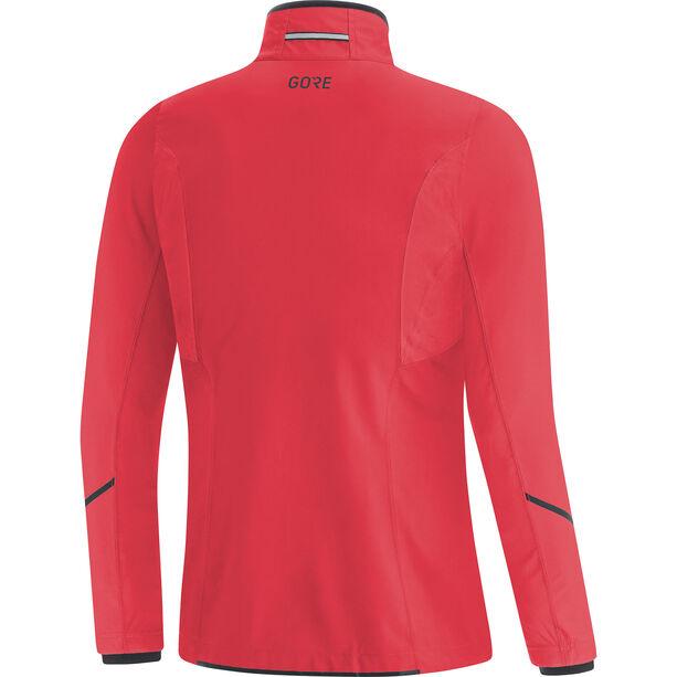 GORE WEAR R3 Gore-Tex Infinium Partial Jacke Damen hibiscus pink