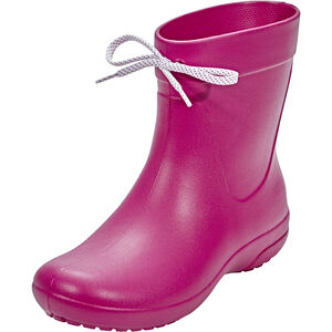 Crocs Freesail Shorty Rain Boots Damen berry berry