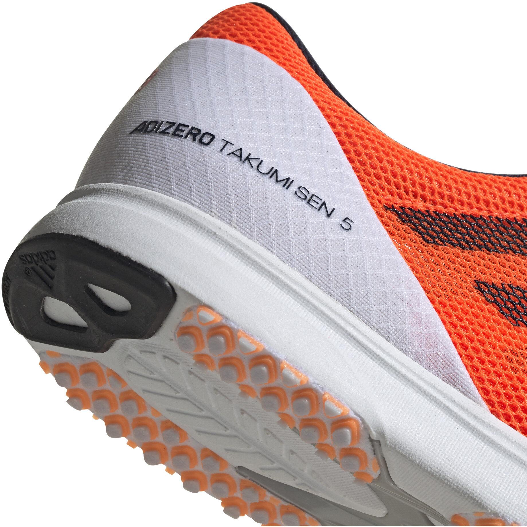 adidas Adizero Takumi Sen Low Cut Schuhe Herren footwear whitereal bluesolar orange