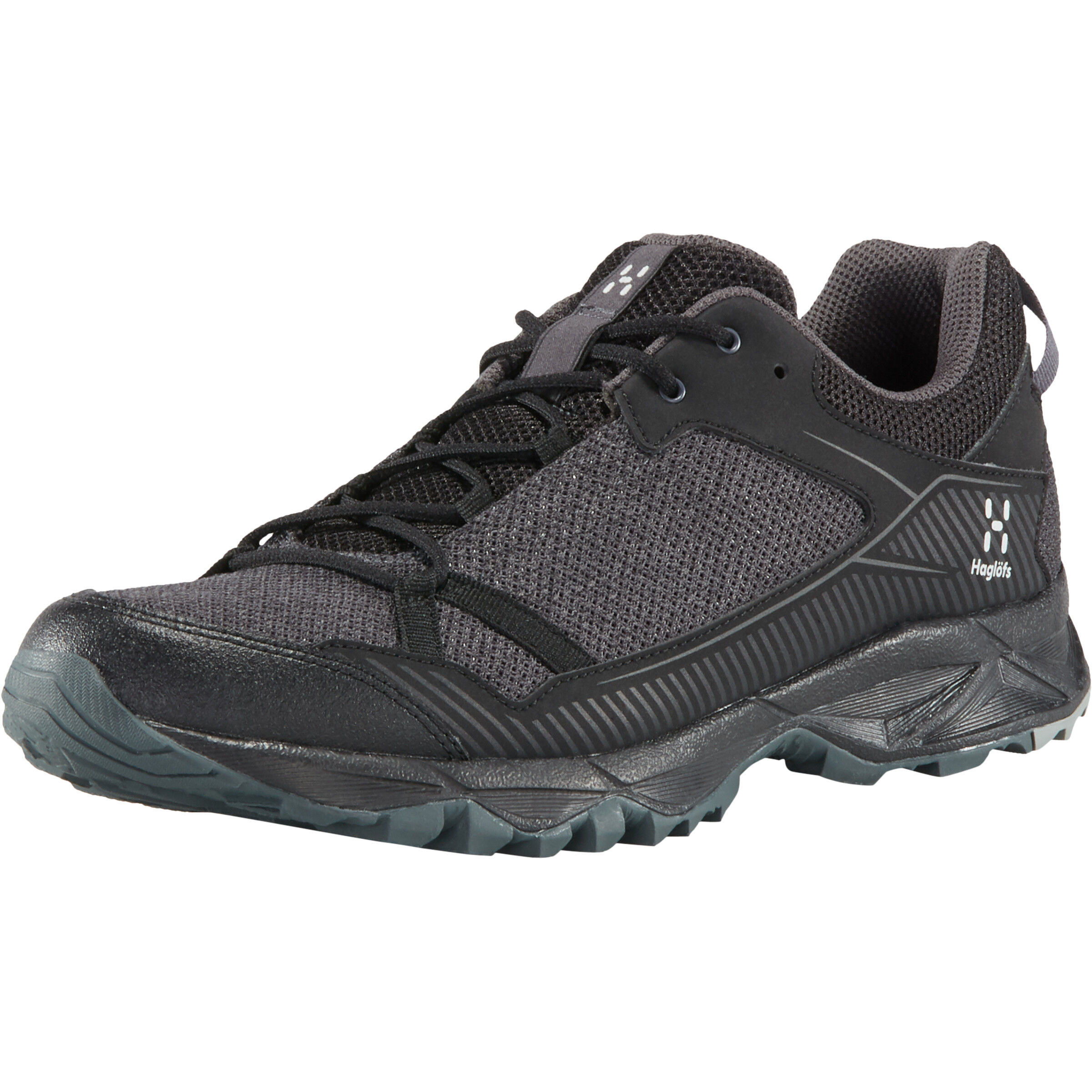 Haglofs Outdoor Grau Schwarz Schuhe Trekking Turnschuhe