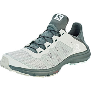 Salomon Amphib Bold Shoes Damen mineral gray/crown blue/white mineral gray/crown blue/white