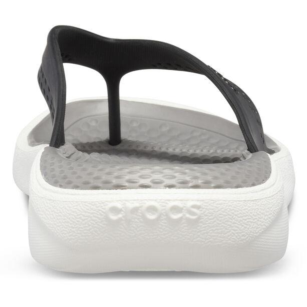 Crocs LiteRide Flip Sandals black/smoke