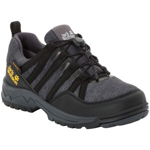 Jack Wolfskin Thunderbolt Texapore Low Schuhe Kinder black/dark grey black/dark grey