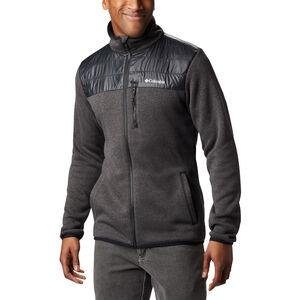 Columbia Canyon Point Sweater Fleece Full Zip Jacke Herren black black