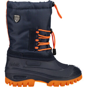 CMP Campagnolo Ahto WP Snow Boots Kinder black blue/orange fluo black blue/orange fluo